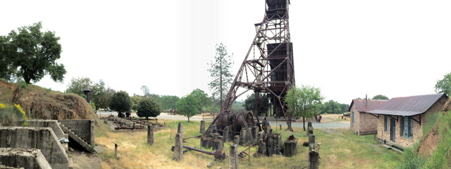 The remains of Kennedy Mine in Jackson