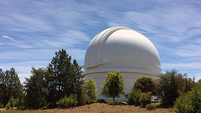 Geek heaven: Palomar Observatory