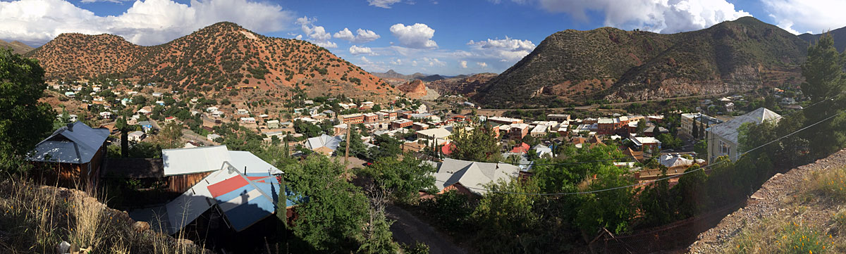 Arizona is also mineral rich, which means mining towns pop up in unlikely places
