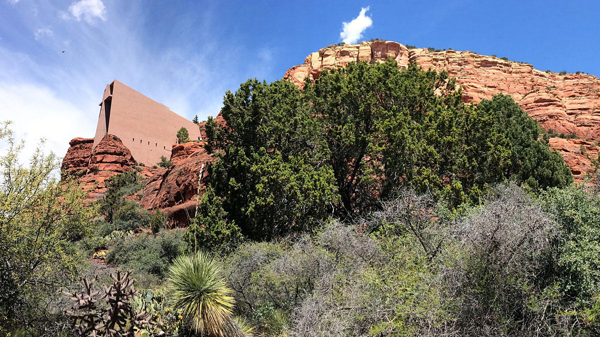 The red rocks around Sedona have inspired spiritual insight for centuries