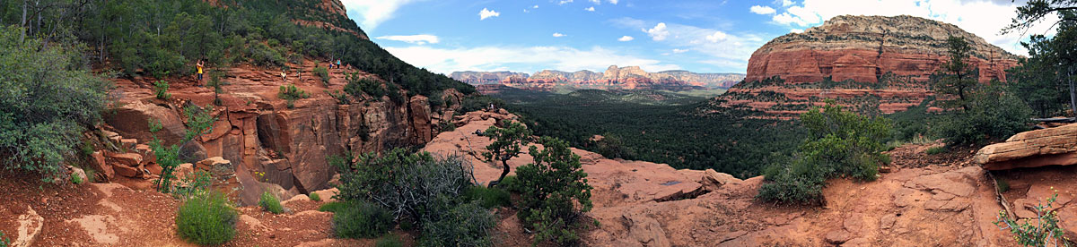 Devil's Bridge behind Sedona may be the most beautiful place I've ever seen