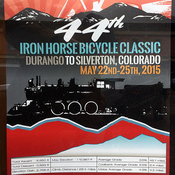 The 2015 Iron Horse classic