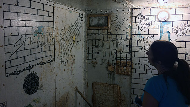 A cell in West Virginia State Penitentiary