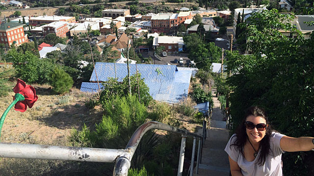Some of Bisbee's 1000 steps