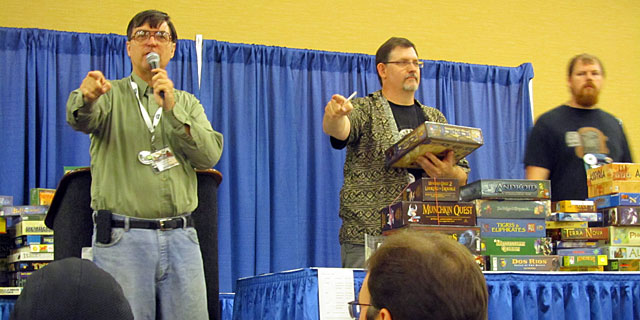 GenCon board game auction