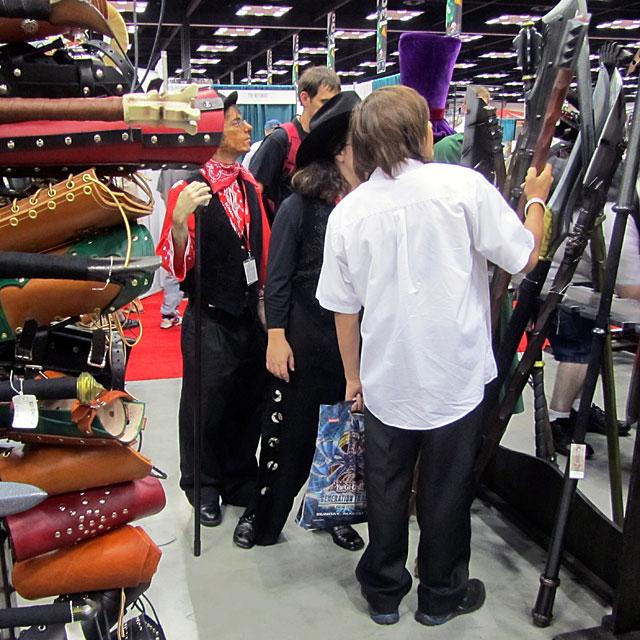 Costumed nerds at GenCon