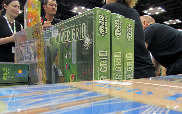 You could buy nearly any game you wanted at GenCon