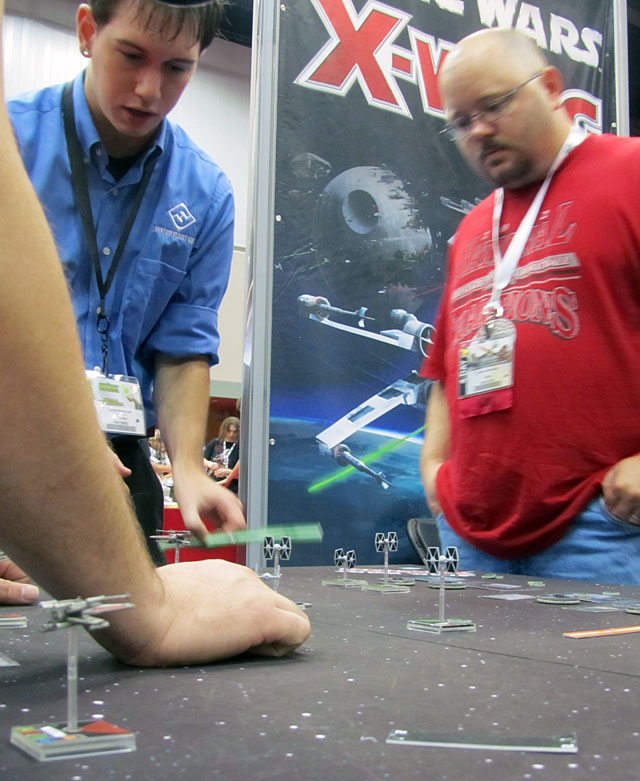 Companies previewed new games at GenCon.