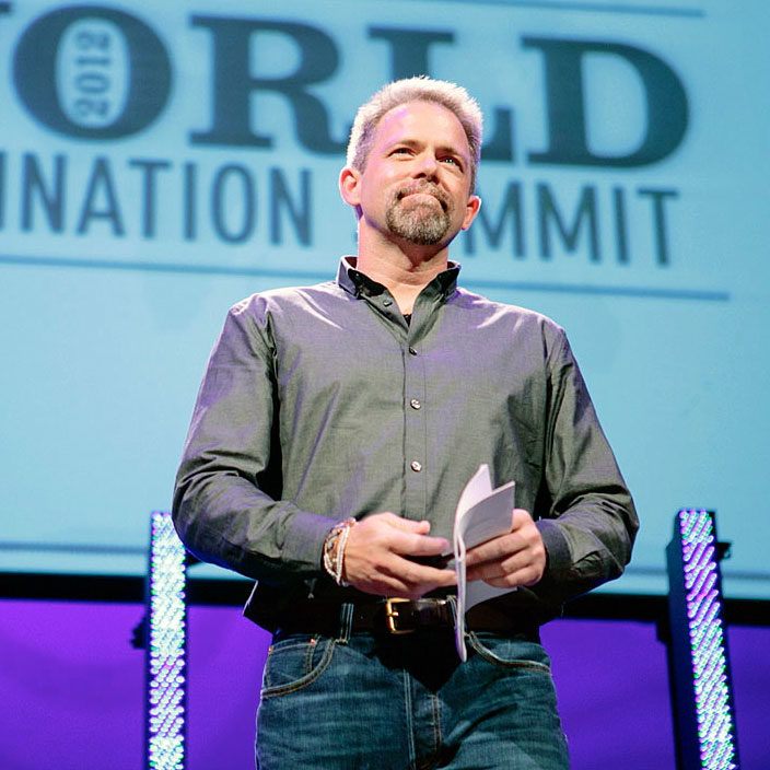 J.D., speaking at World Domination Summit 2012