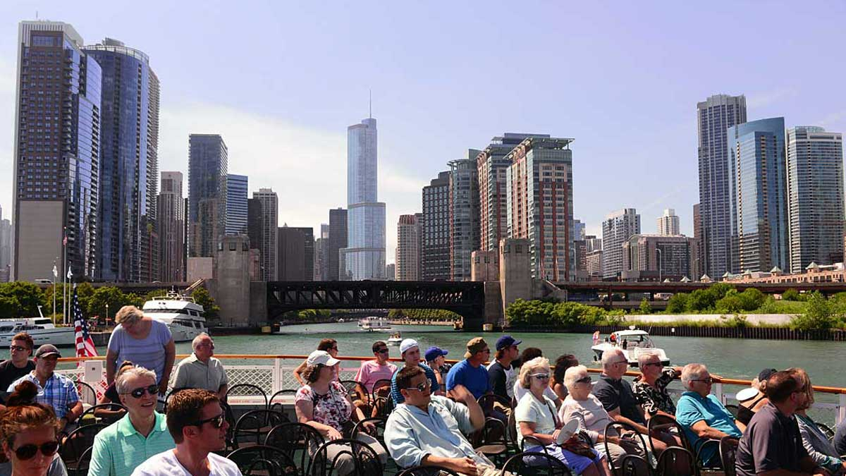 The river tour of Chicago's architecture may be the best such trip I've ever taken