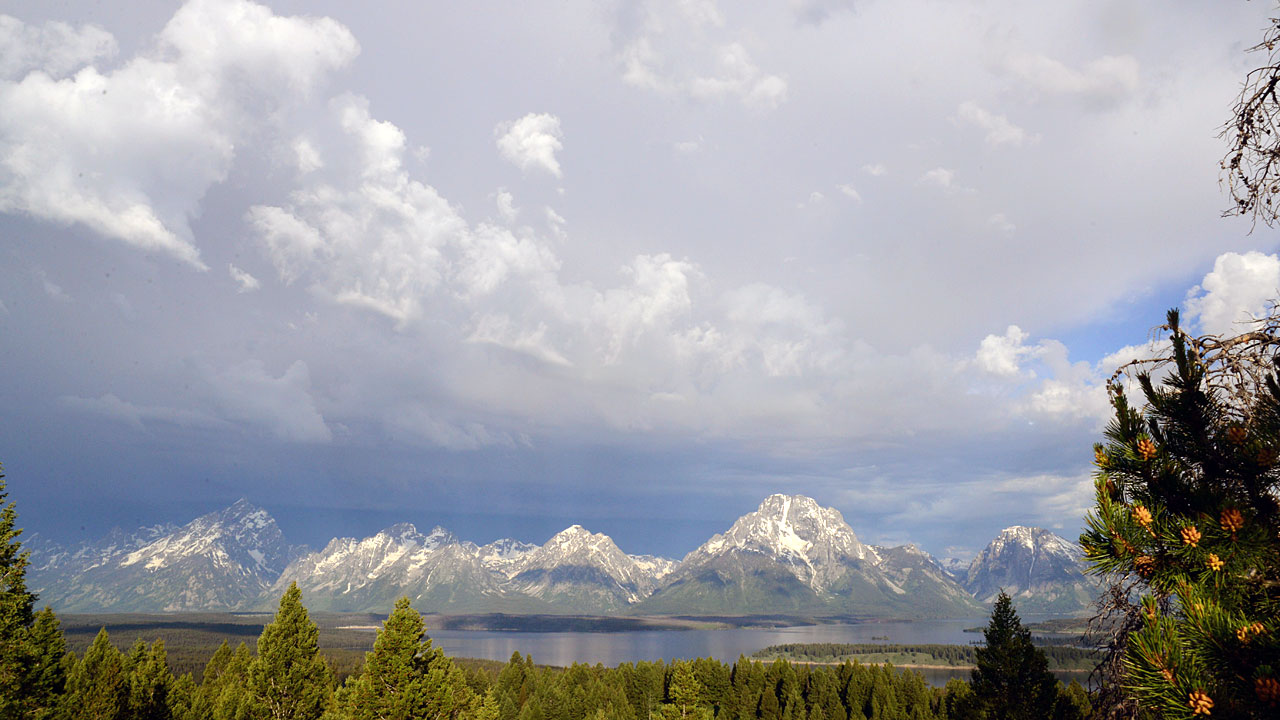 The magnificent Tetons