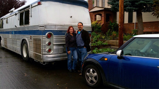 Chris and Cherie, the Technomads